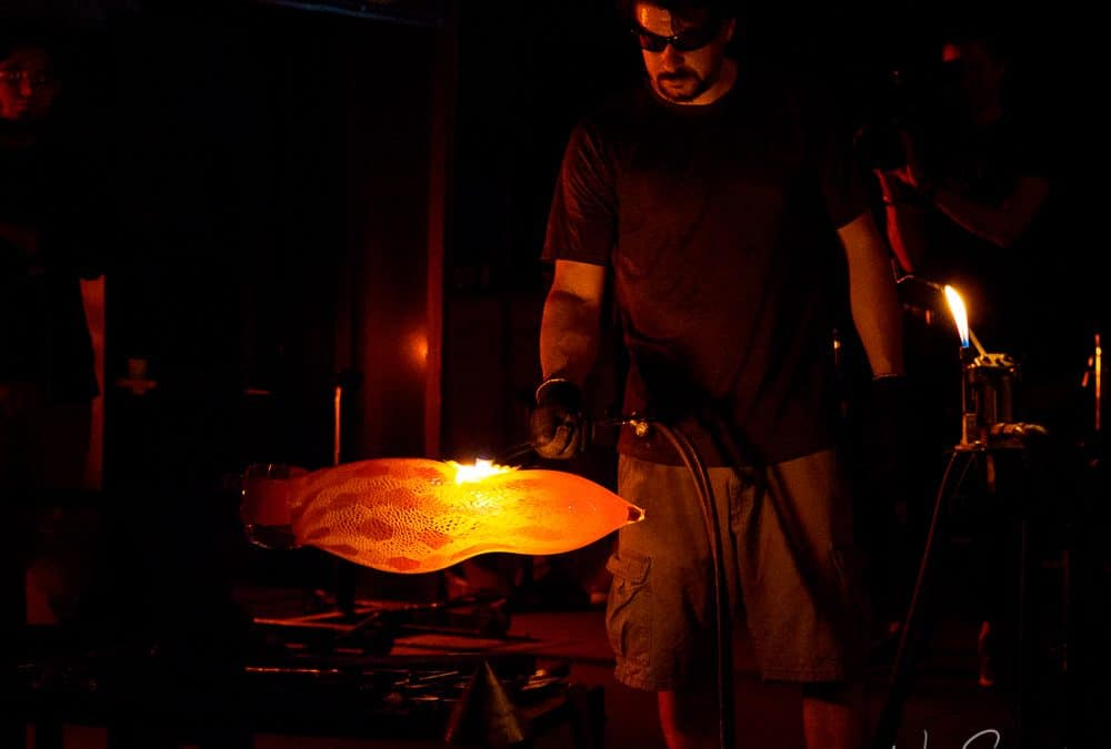 Glassblowing: Photographing the Art