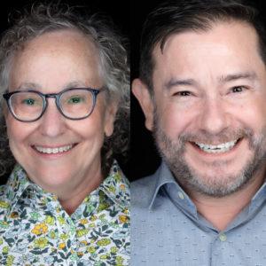 Heidi Levin and Ron Porras